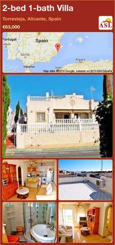 2-bed 1-bath Villa in Torrevieja, Alicante, Spain ►€63,000 #PropertyForSaleInSpain