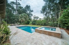 Breathtaking View | Spacious Backyard | Outdoor Living Inspiration | Swimming Pool and Spa | Luxury Real Estate Bluffton, South Carolina