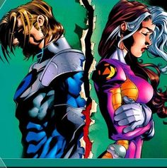 Take a point and Add a point : X-Men Couples, past & present Gambit and Rogue