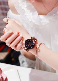 Starry Sky Luxury Magnetic Strap Watch – AmazinTrends.com, #watches, #luxury, #watch, #womenswatches, #giftforher,