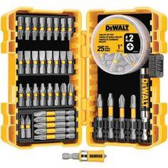 DEWALT MAXFIT Steel Screwdriving Set (63-Piece)-DWA2SLS63 - The Home Depot