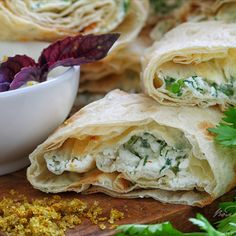 #Лаваш с #сыром и #зеленью Spanakopita, Food Photo, Ethnic Recipes