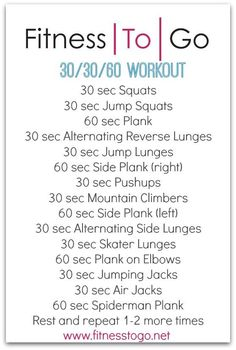 Wednesday Workout Bootcamp Style HIIT Circuit