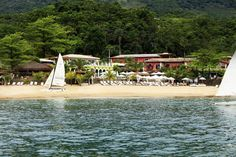 DPNY Beach Hotel is a beachfront boutique hotel in Brazil, in the beautiful island of Ilha Bela
