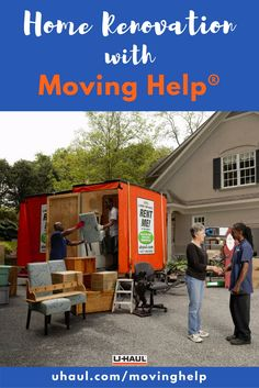 Have a home renovation or project in the works? Use Moving Helpers® to prep your space by carefully clearing it out. Click through to find a few other ways Moving Help® can help! | Decorating your Home