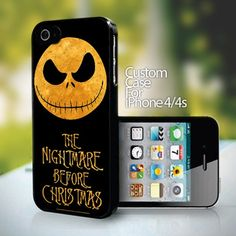 Nightmare Before Christmas for iPhone 4 or 4s case