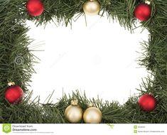 Holiday Border Stock Photo - Image: 3536220