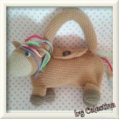Pony cartera para niñas