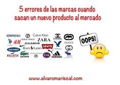 Errores de las marcas