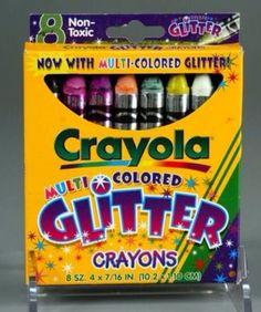 Crayola Glitter Crayons
