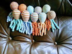 Deze inktvisjes zijn gemaakt door Otty Huisman.