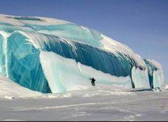 Ice Tsunami in Minnesota | Little Wonders by Kimberly Harry