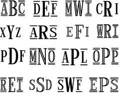 Multi_harold_roman fonts from fontbros.com