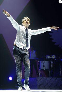 Mika en concert à l'AccorHotels Arena à Paris, le 27 mai 2016. © Coadic Guirec/Bestimage