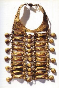 Vintage Christian LaCroix haute couture necklace.