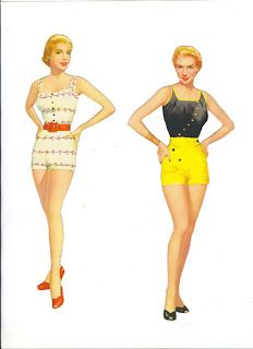 Grace Kelly* For lots of free paper dolls International Paper Doll Society #ArielleGabriel #ArtrA thanks to Pinterest paper doll collectors for sharing *