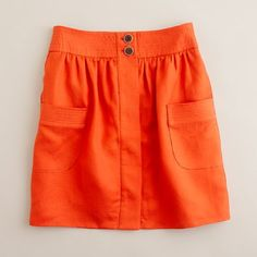 Want this skirt from J.Crew to take to Italy this summer. Would be great paired with a bright pink top!