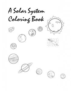 Printable Solar System Coloring Pages For Kids lots of pages!