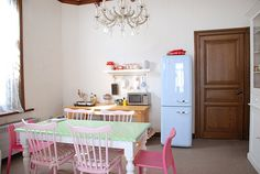 Temp Home (kitchen area) by yvestown, via Flickr
