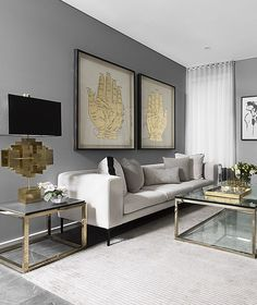 Best Minimalist Living Room Design is no question important for your home. Whether you choose the Minimalist Farmhouse Living Room or Minimalist Living Room Decorating Ideas, you will create the best Design Living Room, Living Room Color Schemes, Living Room Interior, Luxury Living Rooms, Design Bedroom, Apartment Interior, Interior Livingroom, Grey Living Room Ideas Colour Palettes, Modern Living Rooms