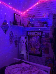aesthetic bedroom tik tok edgy trippy indie teen vibes chill bedroomdecor inspo neon roomdecor