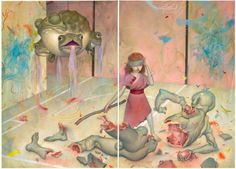 by James Jean.  Love the toad