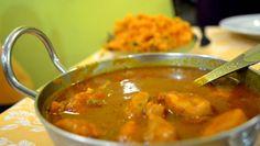 Mother India Restaurant(Rome).  Chicken Rohanjosh