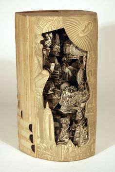 Another Book Surgeon Sculpture.
