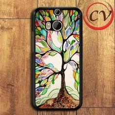 Tree Of Love HTC One M8 Black Case
