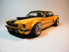 66 Mustang Racer