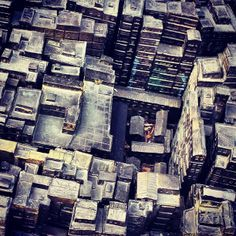 Kowloon Walled City was the densest place in the world, ever.  By its peak in the 1990s, the 6.5 acre Kowloon Walled City was home to at least 33,000 people (with estimates of up to 50,000).  That's a population density of at least 3.2 million per square mile.  For New York City to get that dense, every man, woman, and child living in Texas would have to move to Manhattan.  To put it another way, think about living in a 1,200 square foot home.  Then imagine yourself living with 9 other…