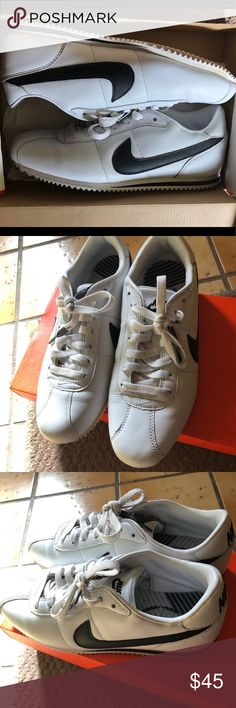 ddf6c0b11d95 Nike Cortez shoes Great condition. Leather upper. Small scratch on the  front of one