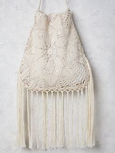 Outstanding Crochet: Free People Desert Crochet Bag.