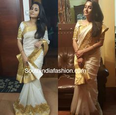 Bhama in Label'M Traditional Saree