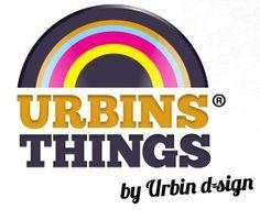 Urbinsthings-logo-by-urbindsign by Urbinsthings. Retro cadeau en gadgets webshop.