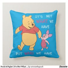 Pooh Bear, Tigger, Kids Pillows, Throw Pillows, Accent Pillows, Disney Winnie The Pooh, Christmas Card Holders, Custom Pillows, Decorative Pillows