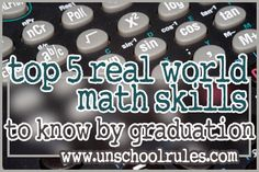 5 real world math skills well-rounded students should know
