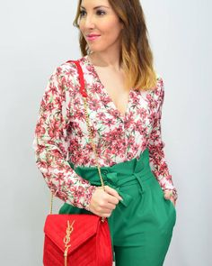 Green & flowers