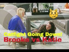 Bold and the Beautiful- BoldTalk 1/26/16 Catfight Brook vs Katie
