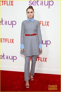 Zoey Deutch & Glen Powell Premiere 'Set It Up' in NYC!