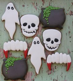 Halloween cookies by Miss Biscuit
