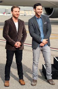 Dean O'Gorman and Aidan Turner