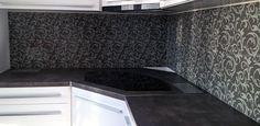 Sklo do kuchyne - sklenená zástena - Topoľčany