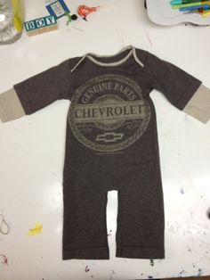 how to make a baby romper from a tee shirt