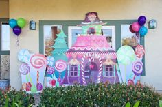 "Photo 130 of 332: SWEET SHOP YUMMILAND CANDYLAND / Birthday ""McKenna's Candyland"" | Catch My Party"