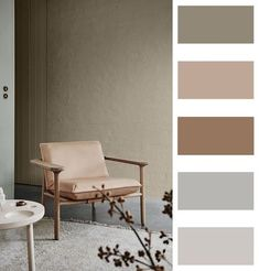 Room Decor: 60 Ideas and Designs for You to Be Inspired - Home Fashion Trend Interior Paint Colors For Living Room, Bedroom Paint Colors, Room Colors, House Colors, Colours, House Color Palettes, Room Color Schemes, Interior Decorating, Interior Design