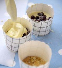 Käsetörtchen mit Beeren und Baiser von Einfach Hausgemacht, Mein Magazin für Haus und Küche
