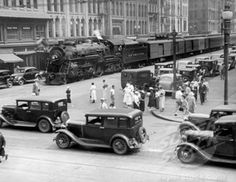 ...and we think the Metro is bad...trains on the streets of Syracuse, NY, 1905-1945