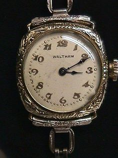 best dating waltham watches