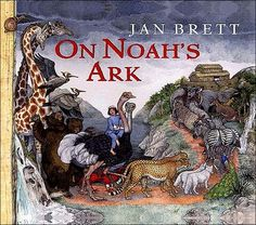 """On Noah's Ark"" by Jan Brett. Plays a bit fast and loose with the Biblical account, but gorgeously illustrated and good for starting discussions with kids. Almost any Jan Brett is worth owning - we already have ""The Hat"" and ""The Mitten"", but nothing else."